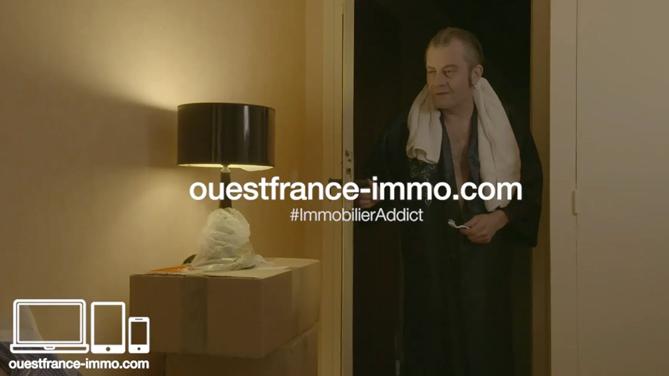 Realisation d'une web serie fiction pour le compte de Ouest France Immo