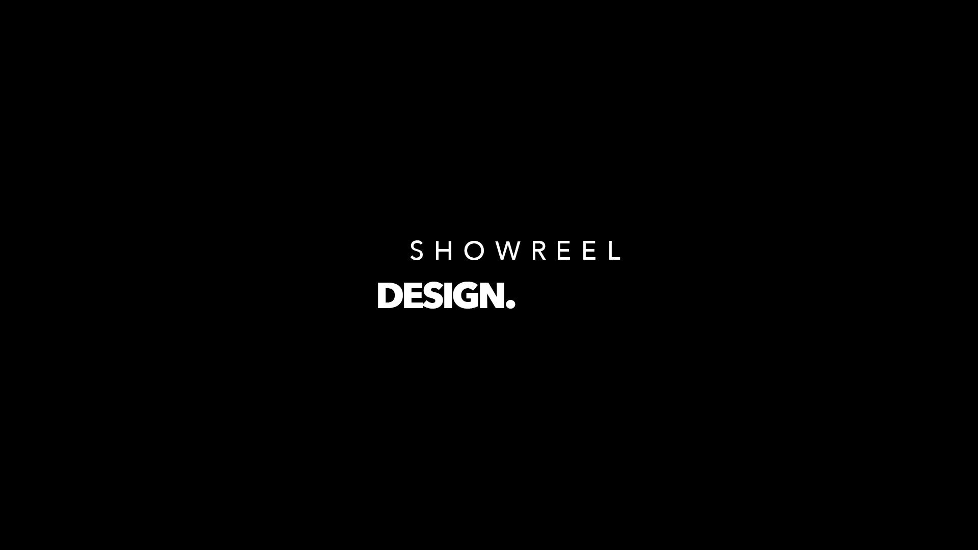 Showreel motion design 2D et 3D 2017