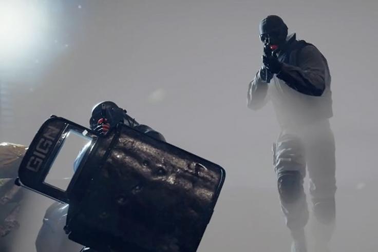 Enregistrement de la voix off du jeu Rainbow Six Siege pour Ubisoft